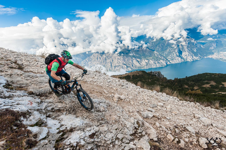 Angela Trawoeger - 360gardalife - Altissimo bike